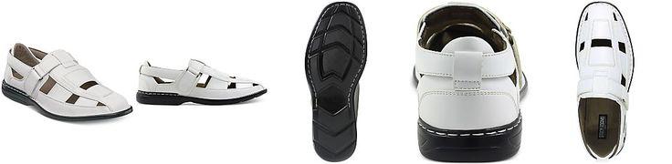 Stacy Adams Men's Brighton Closed-Toe Fisherman Sandals