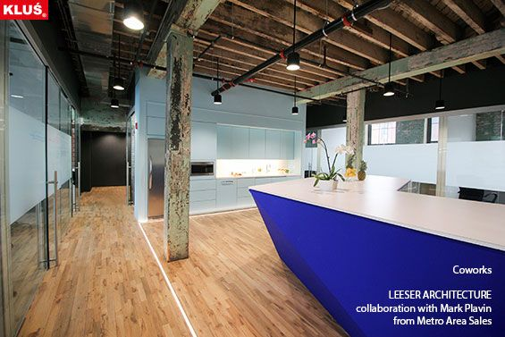 KLUS lighting composition with the use of HR-LINE profile, brings the space an elegant and modern look.