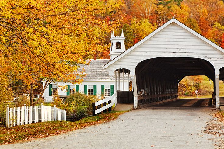 Visit America's Most Picturesque Covered Bridges
