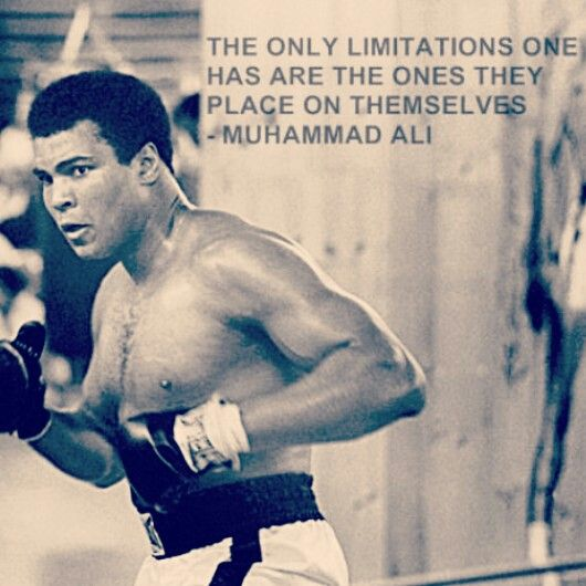 boxing quote #wisdom #motivation