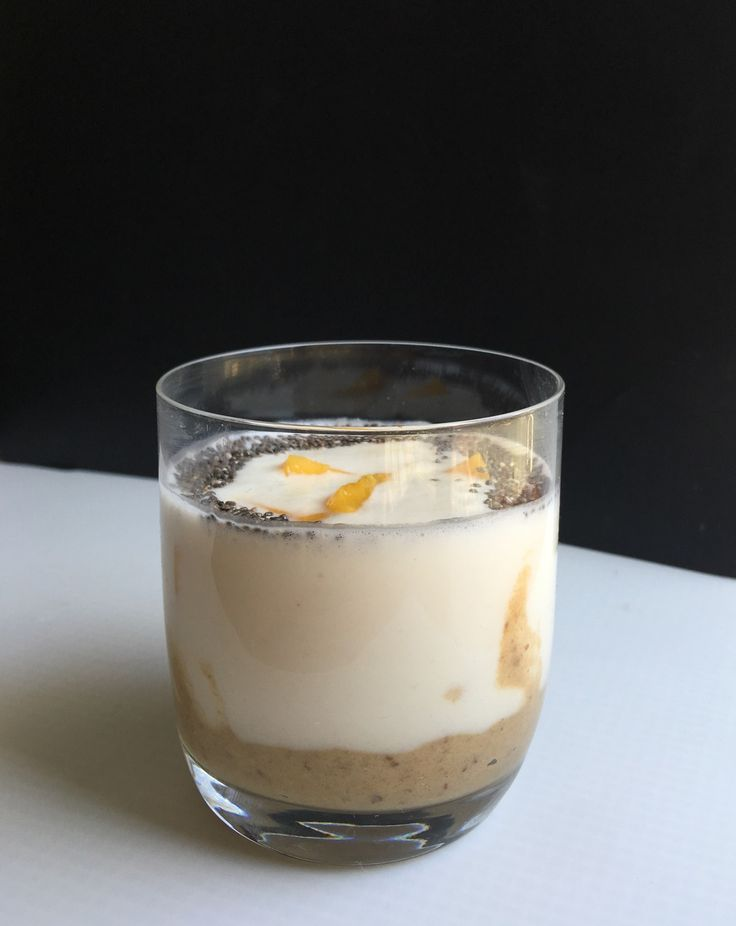 Creamy Salted Caramel Beauty Tonic. Delicious smoothie meal for breakfast. Vegan, clean eating wholefood recipe. Two layers of delicious flavours and textures. Filled with beautifying and nourishing ingredients.