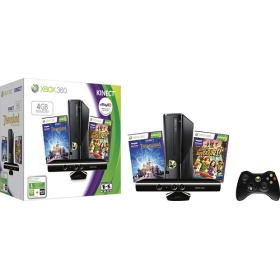 xbox 360 kinect bundle. I would buy a bunch if work out games and never need to go to the gym again!! Muhaha