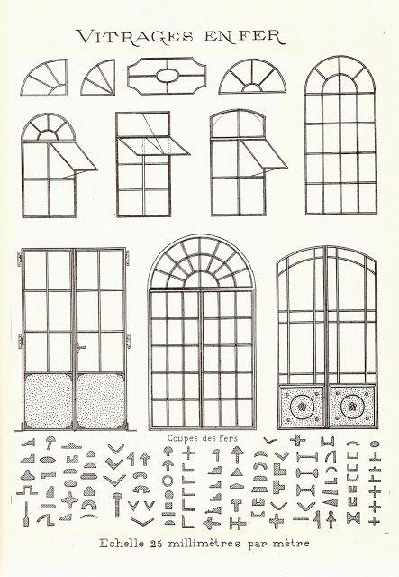 Les portes-fenêtre des chais
