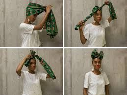 Image result for african hair wraps