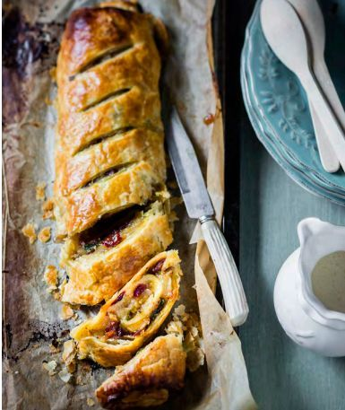 Moroccan Apple & Fig Roll