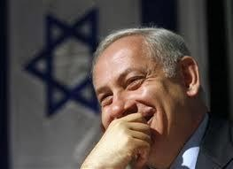 PIC of NETANYAHU watching the FIRST DEBATE....and ROMNEY handing OBAMA his ASS.
