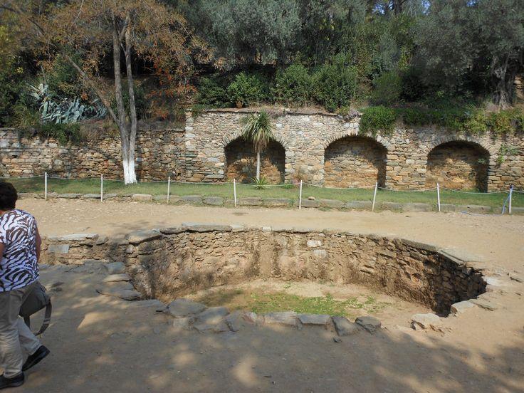Area donde el apostol Juan el evangelista bautizaba.