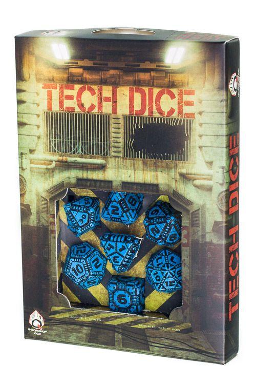 Tech Dice Blue-Black