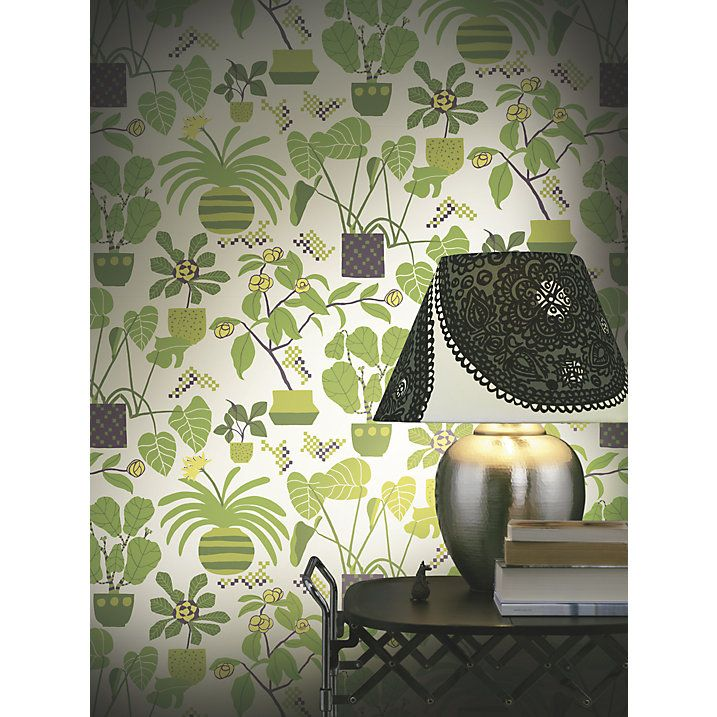 Buy Marimekko Ikkunaprinssi Wallpaper, 17931 Online at johnlewis.com