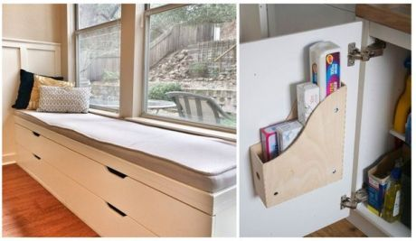Чем заменить сидячий подоконник, где хранить детские игрушки и почему обувной шкаф пригодится в ванной – на эти и другие вопросы ответят наши полезные и бюджетные идеи