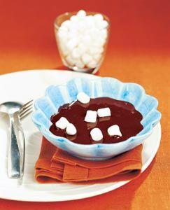 Varm chokladsoppa med marshmallows #recept #norrmejerier #jul #present