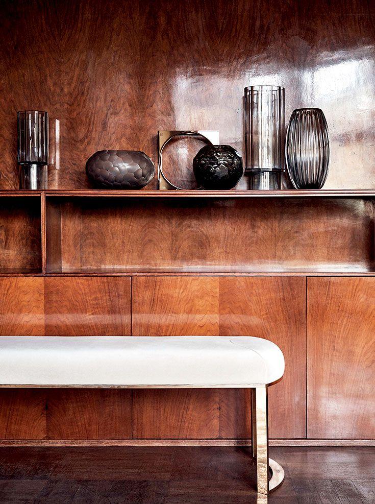 Fendi Casa Contemporary - Asja bench www.luxurylivinggroup.com #Fendi #LuxuryLivingGroup