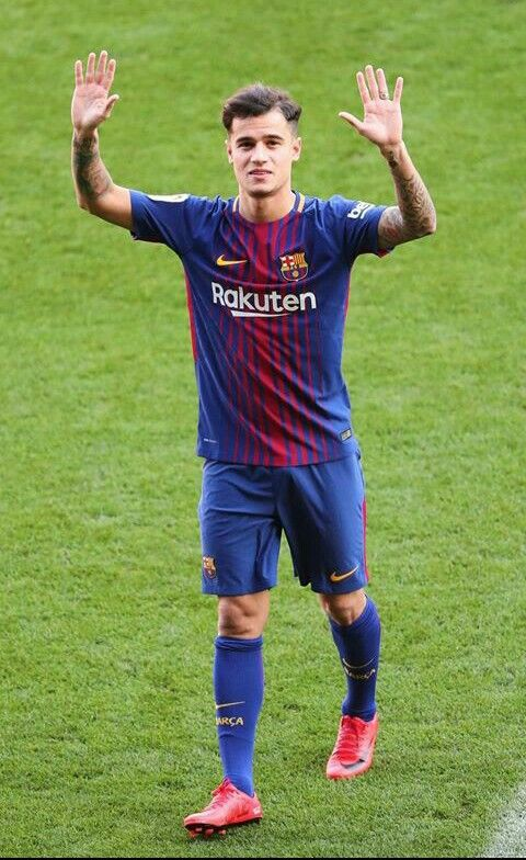 Finally: Philippe Coutinho makes his Barcelona debut against Espanyol