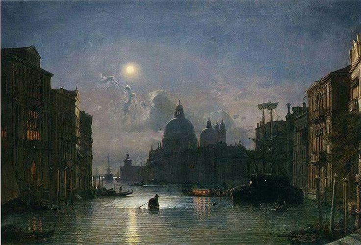 Federico Paolo Nerly, Santa Maria Della Salute, Venezia