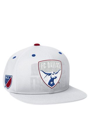 Adidas FC White 2016 Authentic Team Snapback Hat