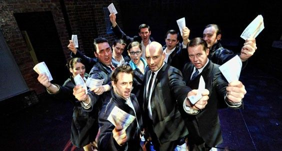 THEATRE REVIEW: The return of Willy Russell's BLOOD BROTHERS to Leeds Grand Theatre... http://www.on-magazine.co.uk/arts/yorkshire-theatre/blood-brothers-review-leeds-grand-2016/