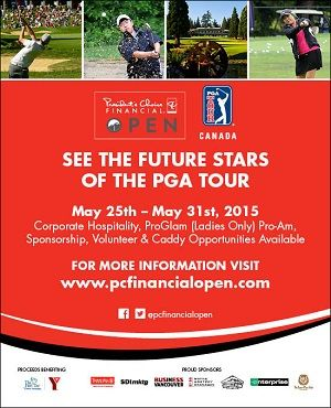 PC Financial Open May 25 - 31, 2015 @ Point Grey Golf & Country Club