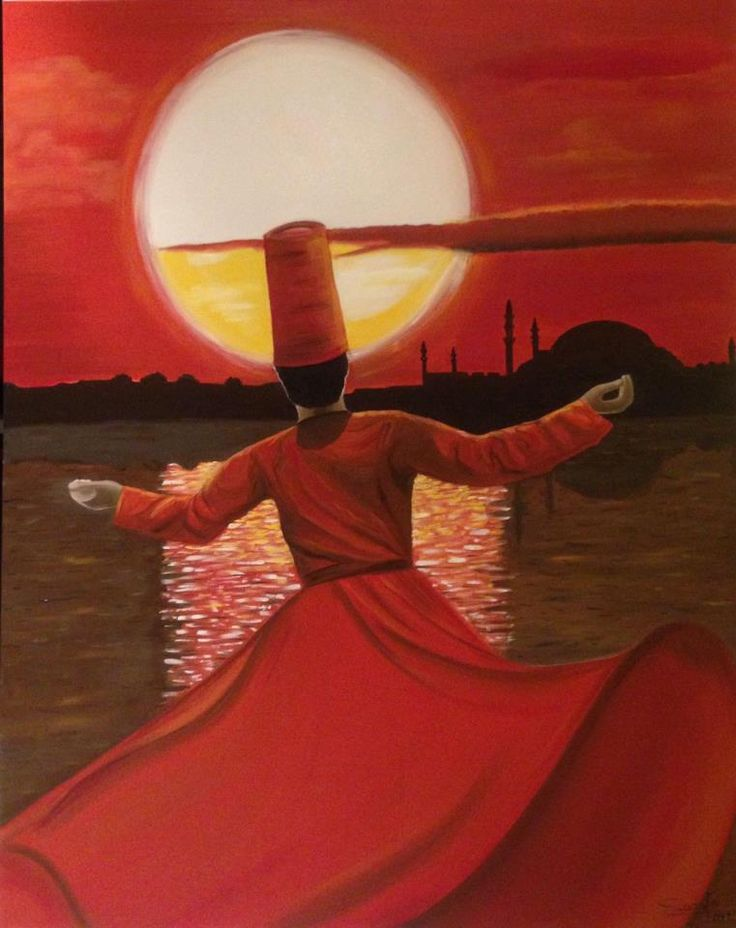 Whirling Dervish by sadafsartgallery on deviantART