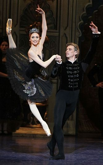 Famous Russian ballerina, and Russian National icon, Svetlana Zakharova of the Bolshoi Ballet...stunning!