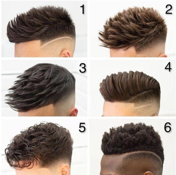 6 ideias de cortes de cabelo masculino modernos. Qual seu preferido? Trending Hairstyles For Men, Mens Hairstyles With Beard, Hair And Beard Styles, Hairstyles Haircuts, Short Hair Styles, Trendy Haircuts For Men, Young Men Haircuts, Gents Hair Style, Style Hair