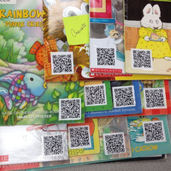 Making Audio Books with QR Codes