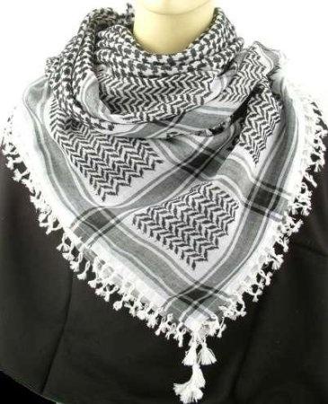 Arrafat-sjaal..of zoiets.
