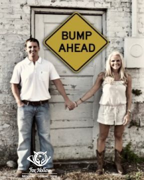 Cute way to spread the word about your #BabyAnnouncement