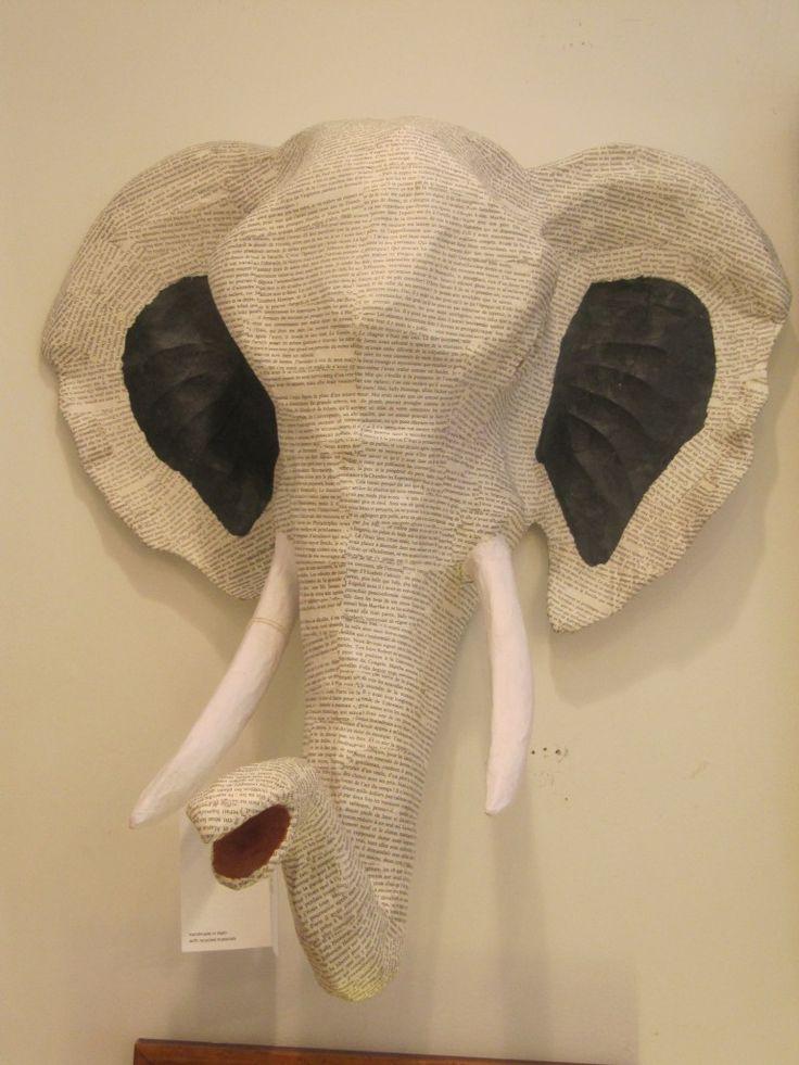 paper mache elephant mask - photo #27