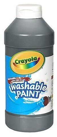 Crayola Washable Paint (Black)