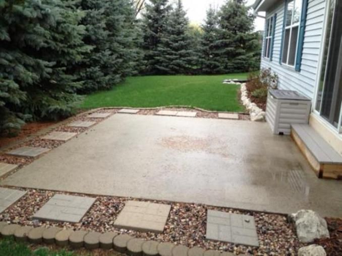 Hugedomains Com Small Backyard Patio Backyard Landscaping Backyard Patio