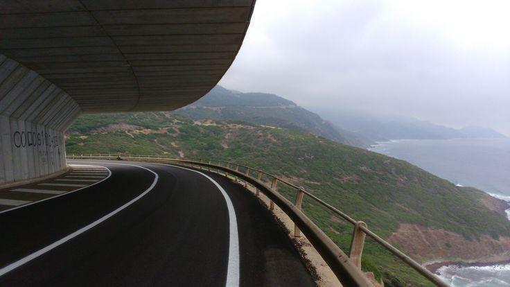 Giro della Sardegna 2015 Strada Algero-Bosa
