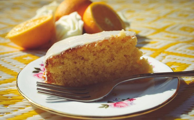 Marmalade Cake with Orange Icing - The Ramblings of a Formerly Rock'n'Roll Mum