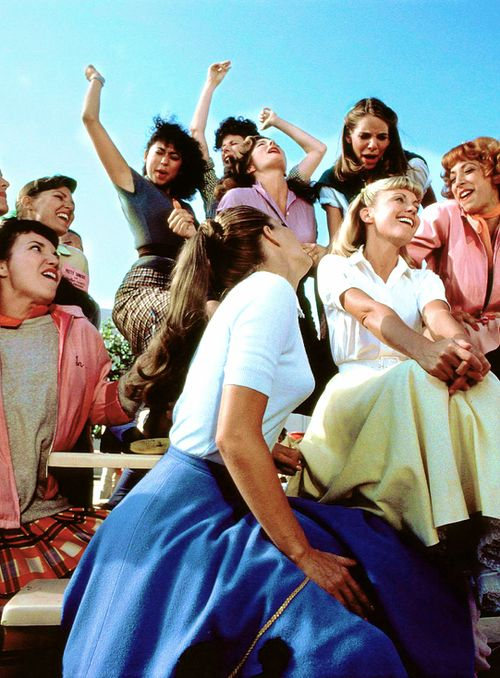 Grease (1978), Olivia Newton-John and the pink ladies, Summer Nights