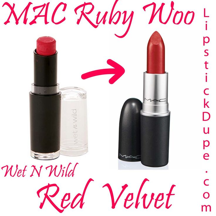 ruby woo lipstick | MAC Ruby Woo Dupe Wet N Wild Mega Matte Lipstick Red Velvet 910D