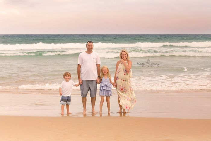 Family Photography, family portraits, beach locations, family poses, family of four