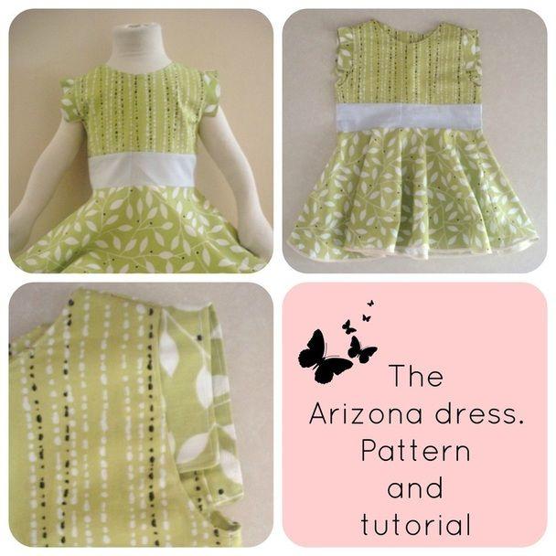 DIY Clothing Kids & Tutorials: free dress pattern, free dress ...