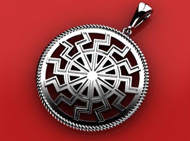 Black Sun (occult symbol) by ovchinnikov_jewelry