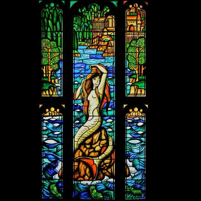 Harry Potter mermaid stained glass coloring book   Harry ...