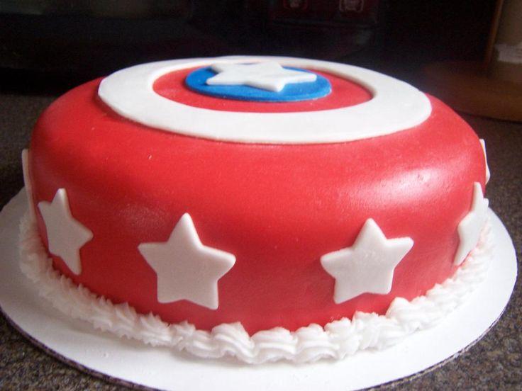 Captain America Shield Cake | Sugar Shindigs