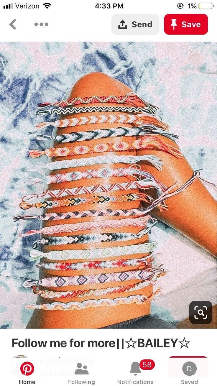 READ DESCRIPTION  custom vsco friendship bracelets ! you can choose up to 12 dif…