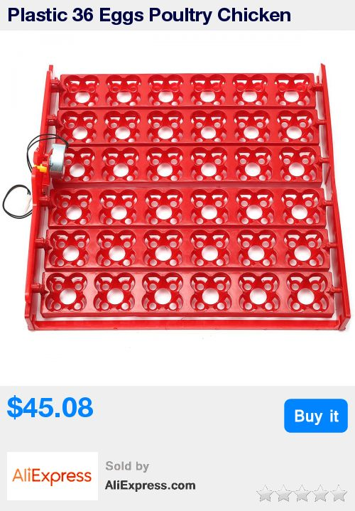 Plastic 36 Eggs Poultry Chicken Incubator Turner Tray Turning Motor Temperature Control Farm Incubation Tools Accessories * Pub Date: 19:31 Jul 7 2017
