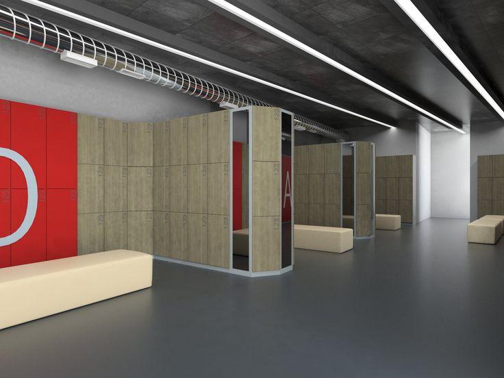 9 Best Atepaa Locker Room Design 3d Rendering For