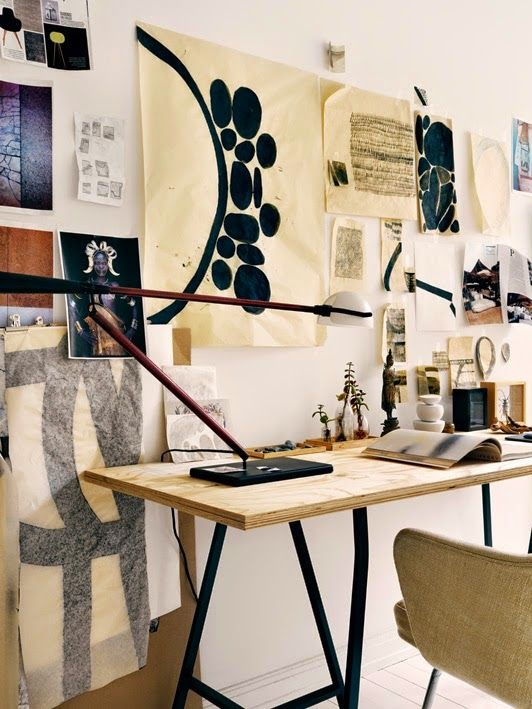 zen office decor. the creative home desk of a fashion designer photographed by jonas ingerstedt find this pin and more on zen office decor