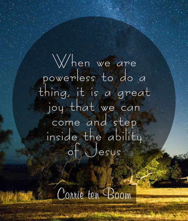 Powerful and Inspirational Corrie Ten Boom Quotes