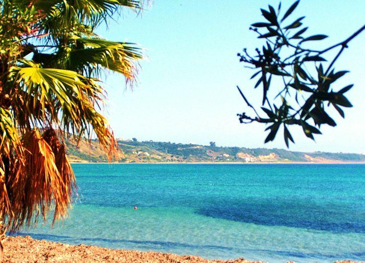 #katelios beach #kefalonia beautiful crystal clear water