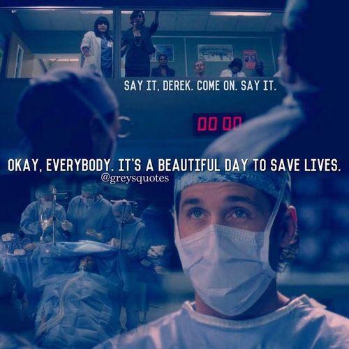Love Derek!  Grey's isn't the same without him!