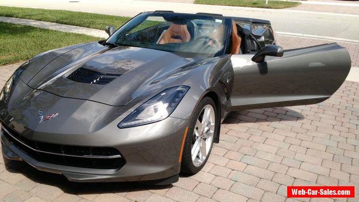 2015 Chevrolet Corvette Stingray Convertible 2-Door #chevrolet #corvette #forsale #unitedstates