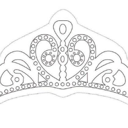 Coloriage la couronne de princesse sofia anniversaire - Couronne princesse disney ...