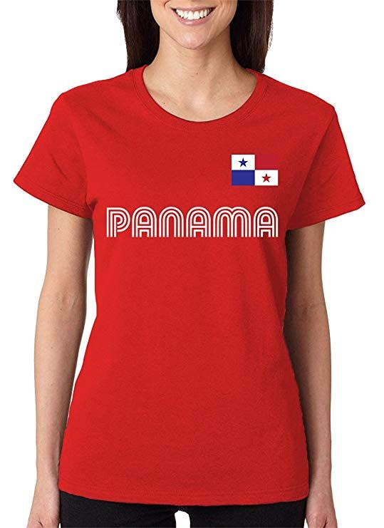 3600daae3 SpiritForged Apparel Panama Soccer Jersey Women s T-Shirt