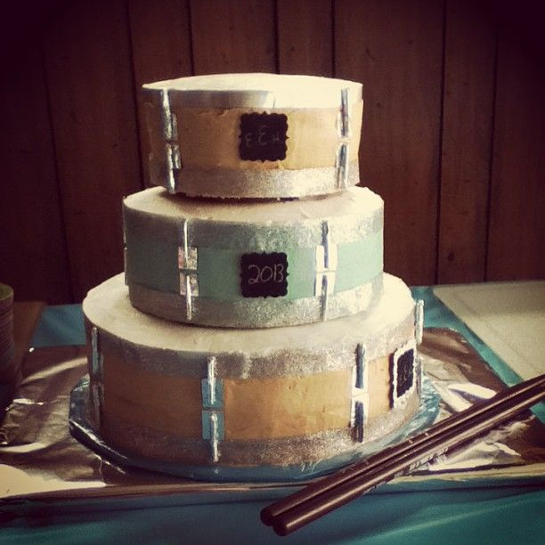 Cake Decorating Drum Kit : 31 Best images about drum inspired wedding cakes on ...